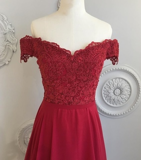 lace bridesmaid dresses, beauty and burgundy bridesmaid dress