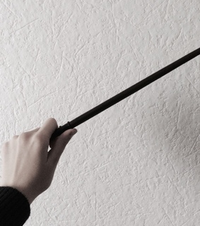 wand and harry potter