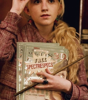 luna lovegood, the quibbler and ravenclaw
