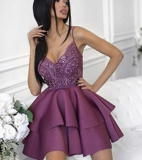 purple prom dresses, cocktail dresses and lace cocktail dresses