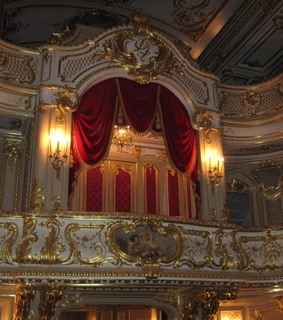 theater, ornate and classical art