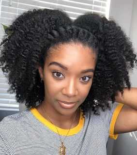 kinky hair, type 4 hair and hairstyles