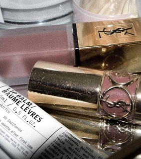 lip balm, ysl and beauty