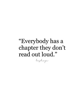 chapter, everybody and out