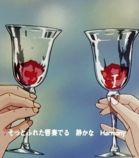 wine, jelly and hands