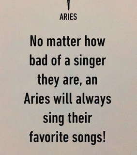 astrology, songs and personality