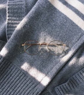soft aesthetic, blue and harry potter