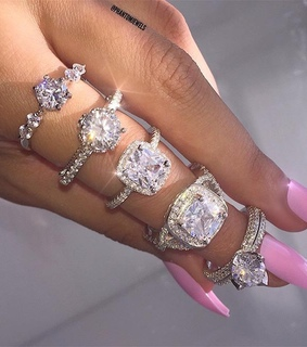 ice, girly and rings