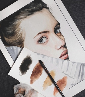 tumblr inspiration, watercolor paint and art drawings