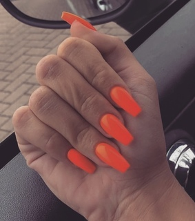 claws inspo, tumblr style and orange nails