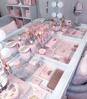 pink, pastel and too faced