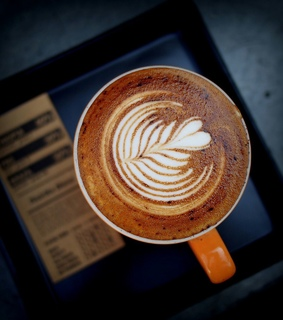 latte art, delicious and coffee