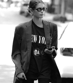style, kaia gerber and model