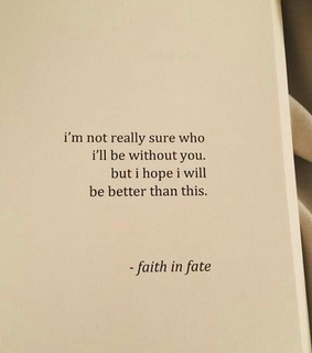 without, fate and faith