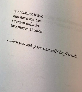 exist, me and ask