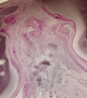 bathtub, relax and pink