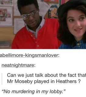 tumblr, funny and heathers 1988