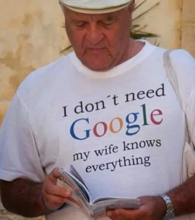 funny, wife and google