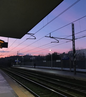 colors, love and railway station