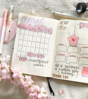 april, planner and monthly