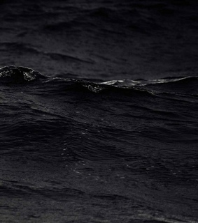 black wallpaper, black and sea