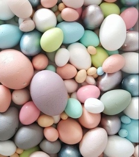 holiday, pastel easter eggs and eggs