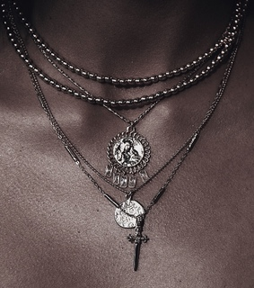 necklaces, jewelry and charms