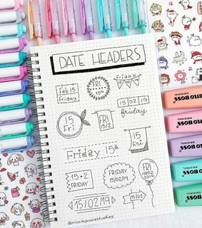 study, date and fechas