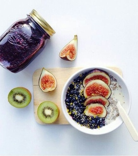 oats, lifestyle and fruits