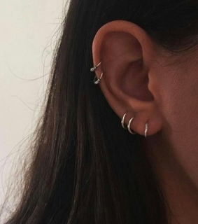 piercing, ear piercings and earring