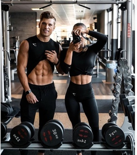 healthy, training and couplegoal