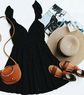 outfits goals, hats and dress