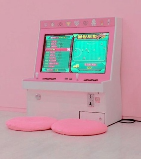 vapor wave, games and playing