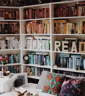 corner, aesthetic and reading