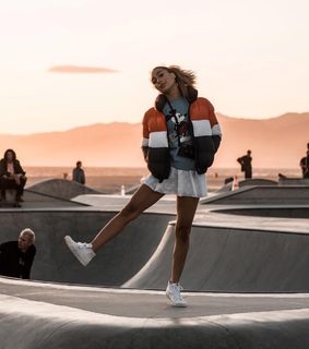 jacket, alternative and sneakers