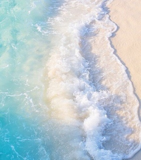 waves, turquoise and beach