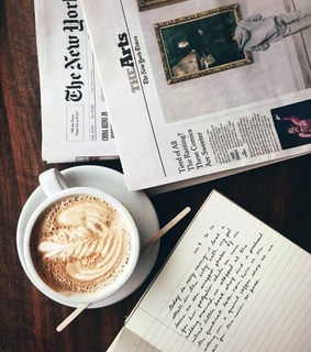 morning, notes and new york times