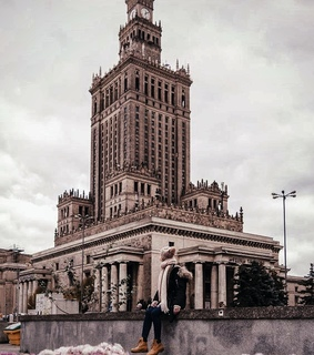streets, architecture and warsaw