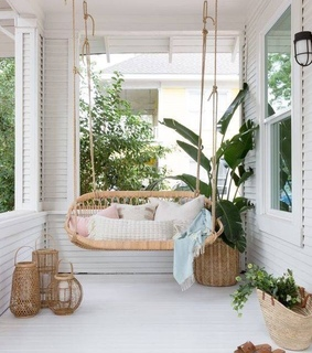 home and porch