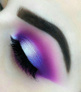 makeup idea, idea and purple makeup
