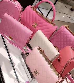 purse, purses and pinks