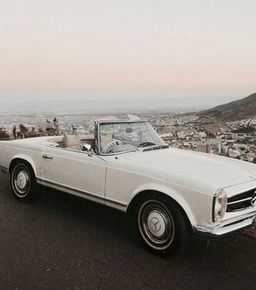 old, mercedes and aesthetic