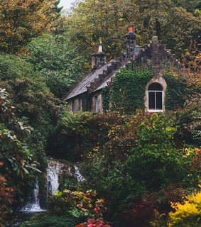 dream house, happy place and peace