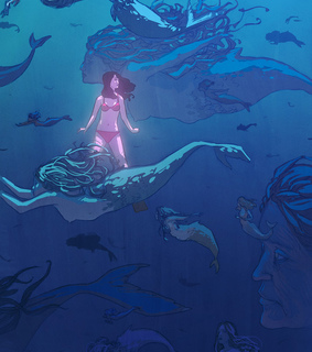 mythical, mysterious and mermaid