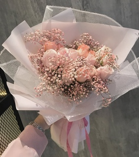 pink baby breath, baby breaths and flowers