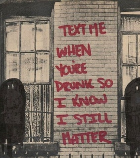 love quotes, text and drunk