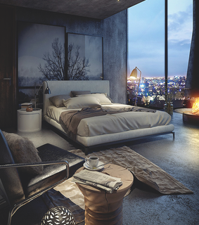 home, bedroom and inspiration