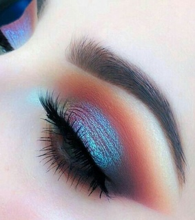 beauty, makeup idea and face