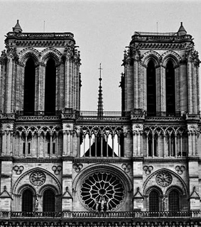 paris, notre dame and church