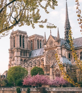 francia, notre dame and pars
